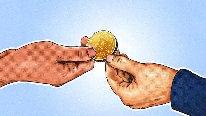 обмен биткоинов