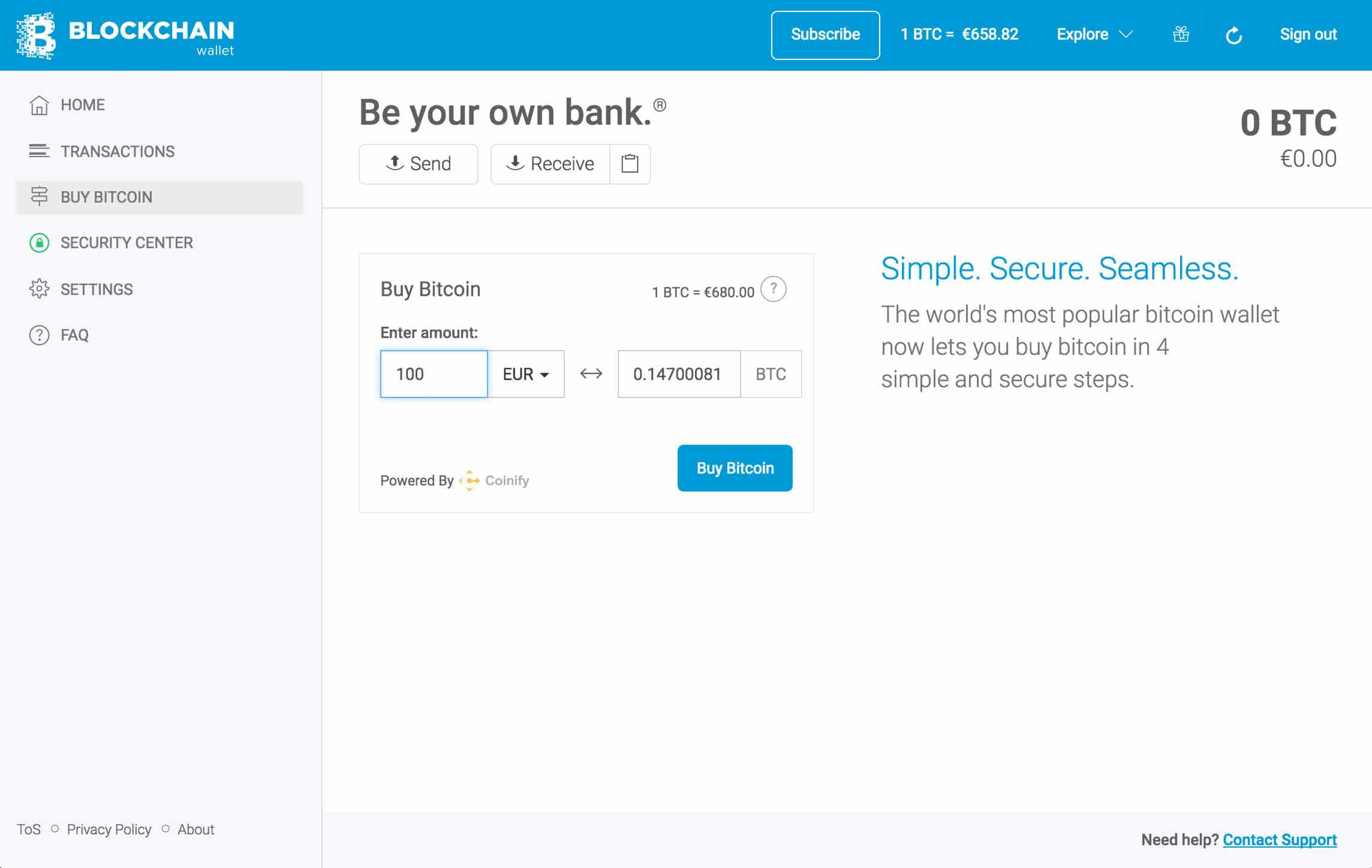 купить биткоин в личном кабинете кошелька blockchain